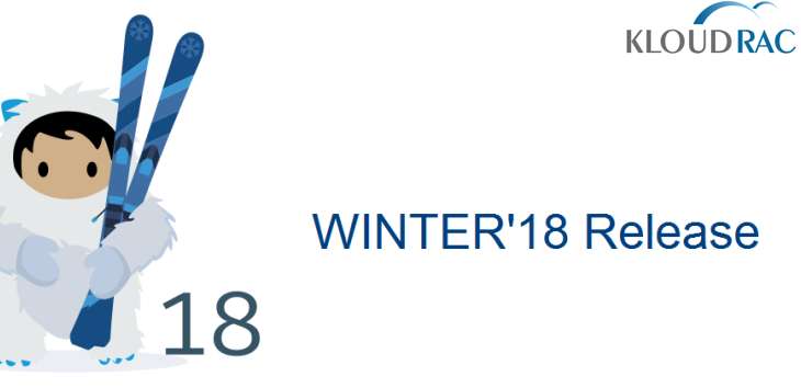 Salesforce Winter 18 Release