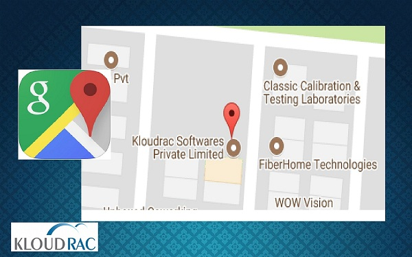 Kloudrac Softwares Private Limited on Google Map