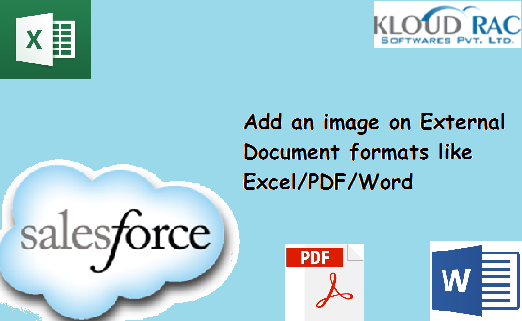 Add an image on External Document formats like EXCEL/PDF