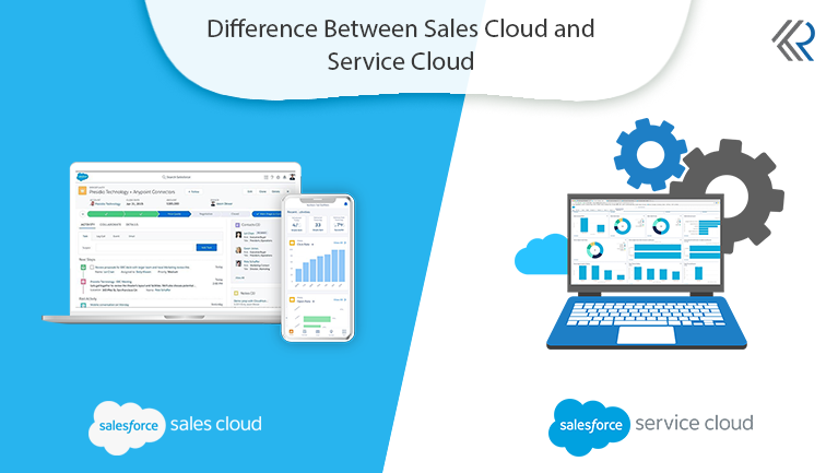 Difference Between Sales Cloud and Service Cloud