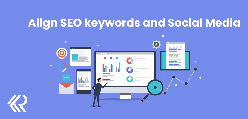 Align SEO keywords and Social Media