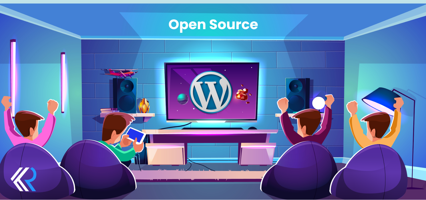 WordPress is an open-source venture